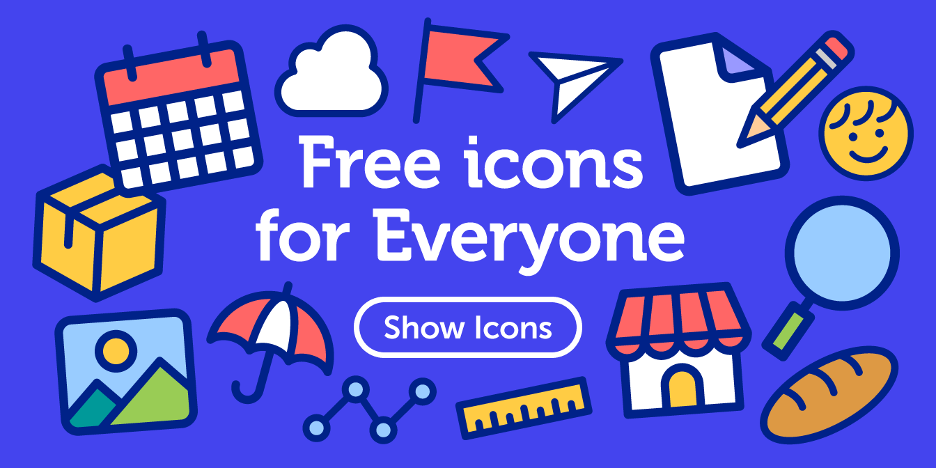 Free icons for Everyone.